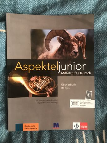 Учебник по немецкому Aspekte junior b1 plus