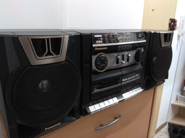Przenośny zestaw stereofoniczny Panasonic RX-CT850
