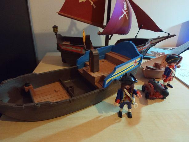 Zaglowiec armata łódka pirat piraci playmobil 6681