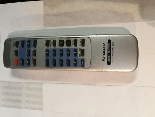 Pilot Audio SHARP 92L29X000XX060 Oryginał i inne modele