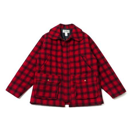 Vintage L.L.Bean Made in USA мужская куртка пальто шерсть schott alpha