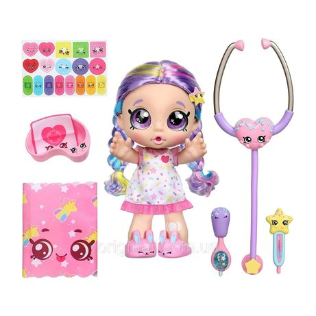 Интерактивная кукла Кинди Кидс Рейнбоу Кейт. Kindi Kids Shiver