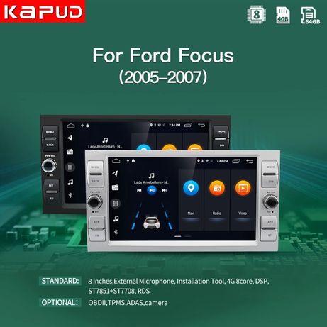 магнитола Ford Kuga Fiesta fusion focus Mondeo S-max C-max galaxy