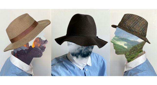 3 x kapelusz