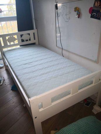 Łóżko dziecięce Kritter 160x70 cm + materac VYSSA + stelaż Sultan Lade