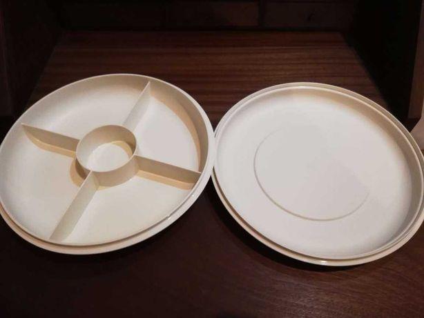 Tupperware para aperitivos salgados com tampa e OFERTA