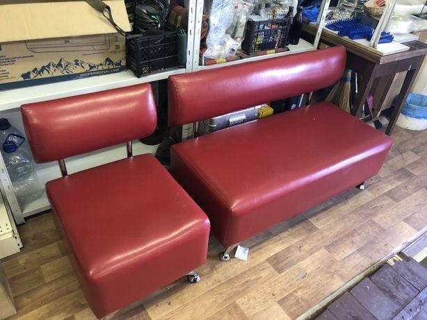 Мягкая мебель (диван+кресло)