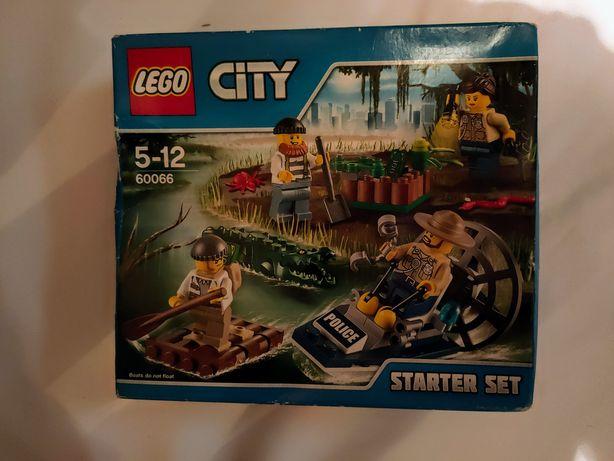Lego City Policja z Bagien Zestaw Startowy 60066 unikat