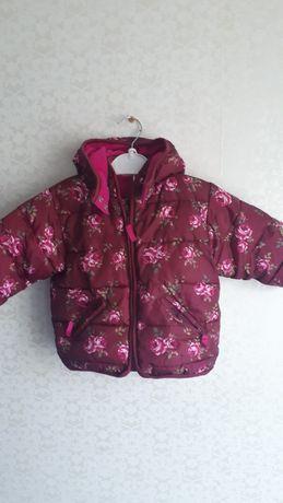 Теплые куртки для девочки