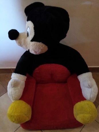 Fotel myszka Miki disney