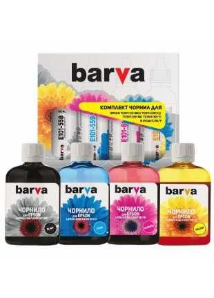 Чернила BARVA Epson L4160, L6160, L6190, L4150, L6170, L4167 (4х100 мл