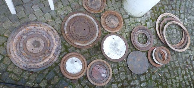 Fajerki do pieca, różne rozmiary, do 35 cm średnicy