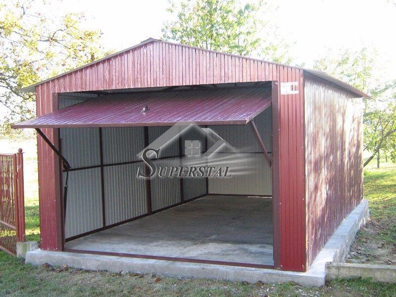 Garaż blaszany, blaszak, blacha akrylowa, dowolne wymiary, Cały Kraj
