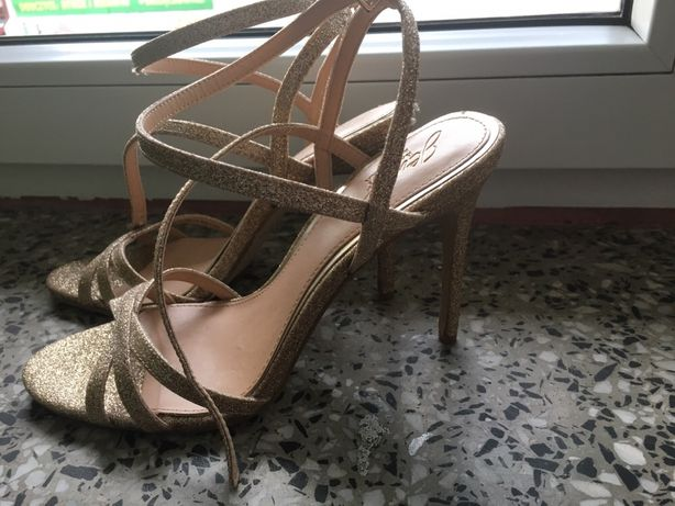 sandałki badgley mischka buty ślubne, sylwester