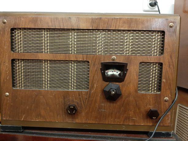 Przedwojenne radio lampowe Marconi