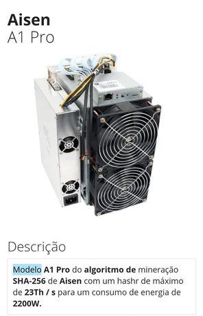 Antminer A 1 Pro meneradora de bitcoin 15 unidades disponíveis