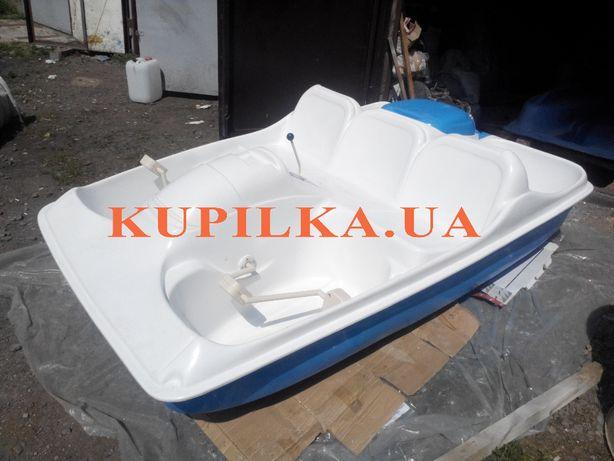 Катамаран педальный от производителя водных велосипедов и лодок