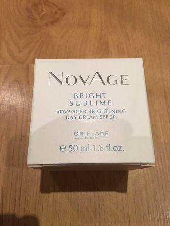 Nowy rozjaśniający krem na dzień NovAge Bright Sublime 50 ml Oriflame