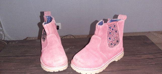 Ботинки сапожки демисезон, для девочки 26