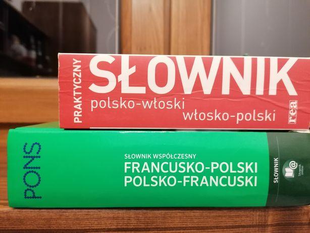 Słownik włosko-polski i francusko-polski