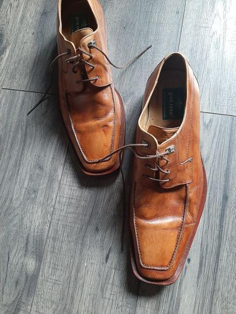 Buty męskie skórzane Gino Rossi r.44
