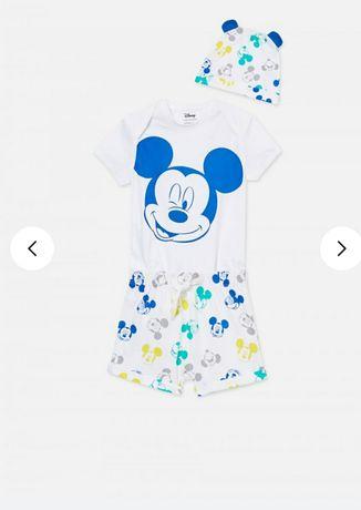 NOWY Komplet Disney na lato r. 68