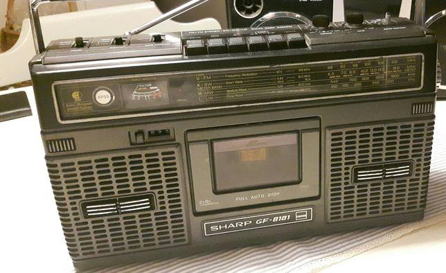 Radiomagnetofon SHARP GF 8181