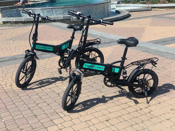 ТОП Электро-Велосипед Экологичный СКЛАДНОЙ Дистанция 40км на 1заряде
