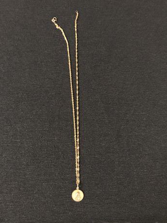 Zloty łańcuszek próba 585, 46 cm