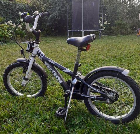 fantastyczny rower+ boczne kólka+ klakson+ dzwonek