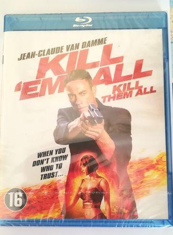 "Blu-ray Jean Claude Van Damme Kill""em All Balkanska vendetta NOWY"