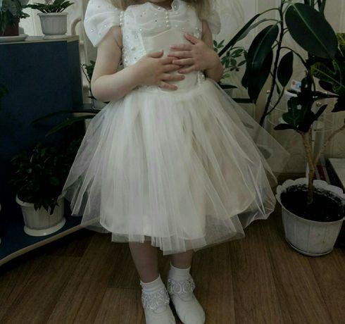 Пышное платье на 3-5лет