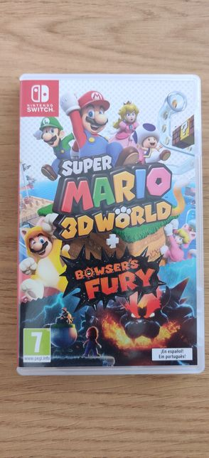 Nintendo Switch Super Mario 3D World / Browsers Fury