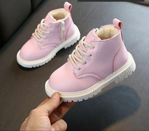 Мартіни 22, 24, 26, 30 ботинки зимове взуття черевики