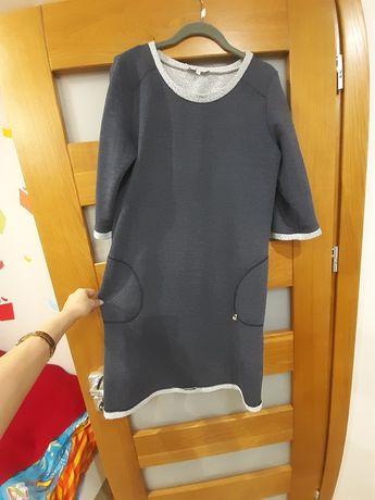 Ciążowa sukienka dresowa rozm.38 torelle
