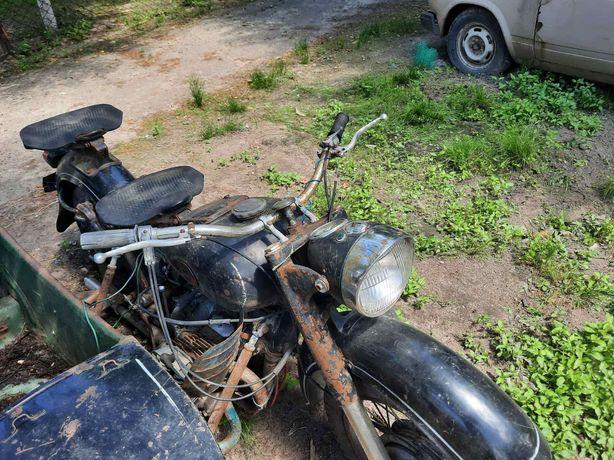Мотоцикл Днепер к 750