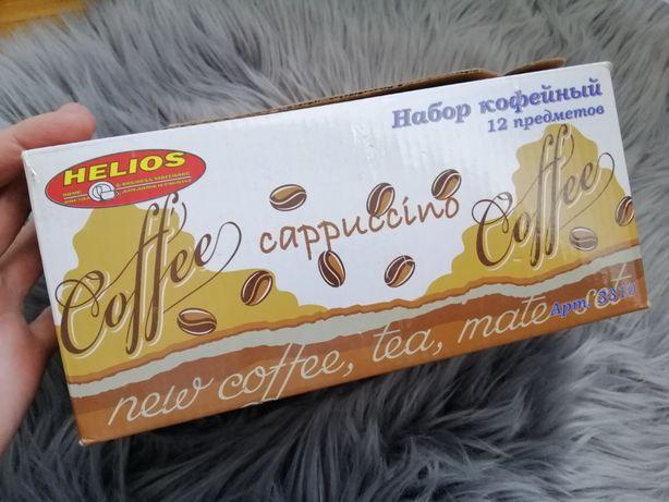 Кофейный набор (для эспрессо), 12 предметов