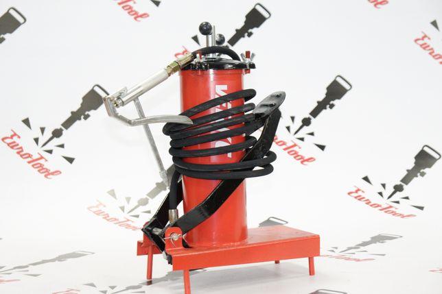 Нагнетатель смазки ножной Verke V86130 30 МПа - бак - 3 л