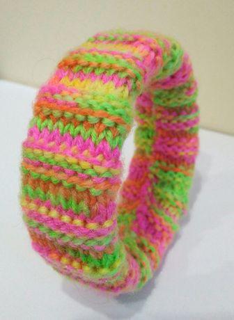 браслеты вязанные