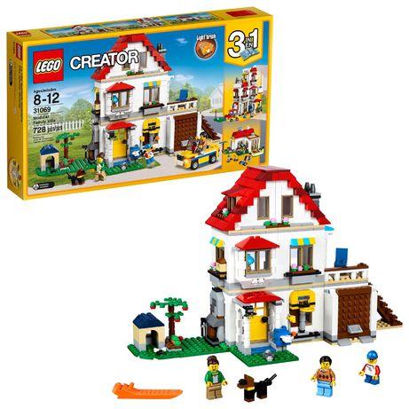 Lego creator-casa familiar da cidade-31069