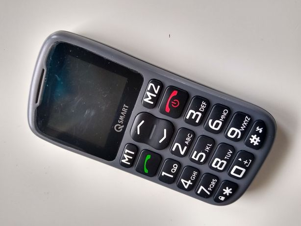 Telefon QSmart z ładowarką jak nowy !!!