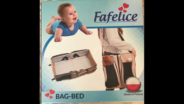 Сумка-люлька 2в1 трансформер для детей 0+ Fafelice