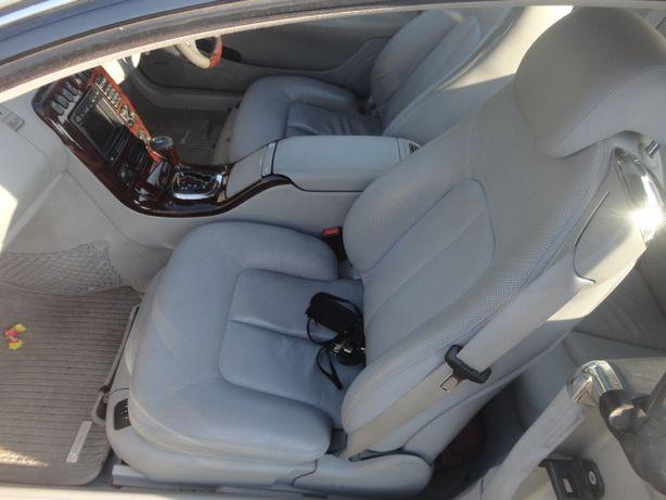 Mercedes cl 500 w215 wnętrze skóra środek Części