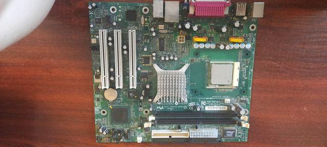 Комплект Intel desktop board D865VHZ+Intel celeron