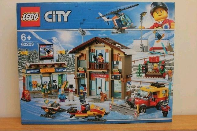 LEGO CITY Kurort narciarski 60203 NOWE!!!