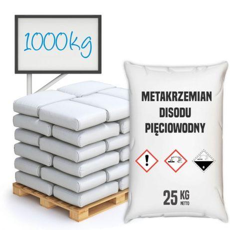 Metakrzemian disodu pięciowodny paleta 1000 kg