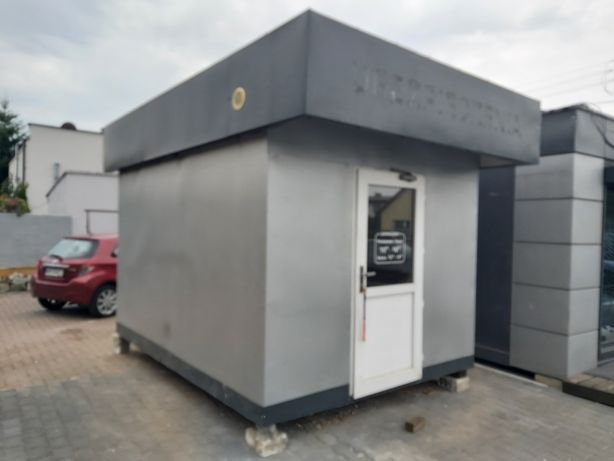 Biuro pomieszczenie kontener całoroczne z meblami