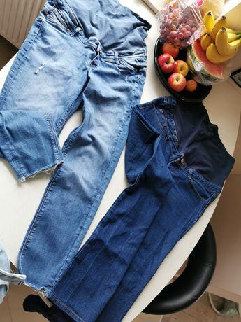 Dwie pary spodni ciążowych z H&M