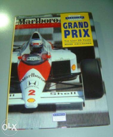 F1 / Formula 1 : livro Grand Prix: last 25 years