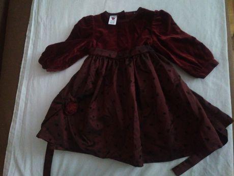 elegancka, wizytowa sukienka r.80